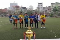 Khai mạc Giải Bóng đá Tứ hùng - Tranh cúp Vườn Đào 2018