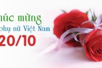 Chào mừng Ngày Phụ nữ Việt Nam 20/10